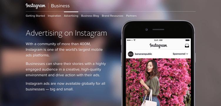 Inserzioni Instagram Stories
