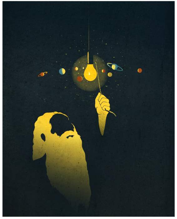 Who lighted the universe? [img 1]