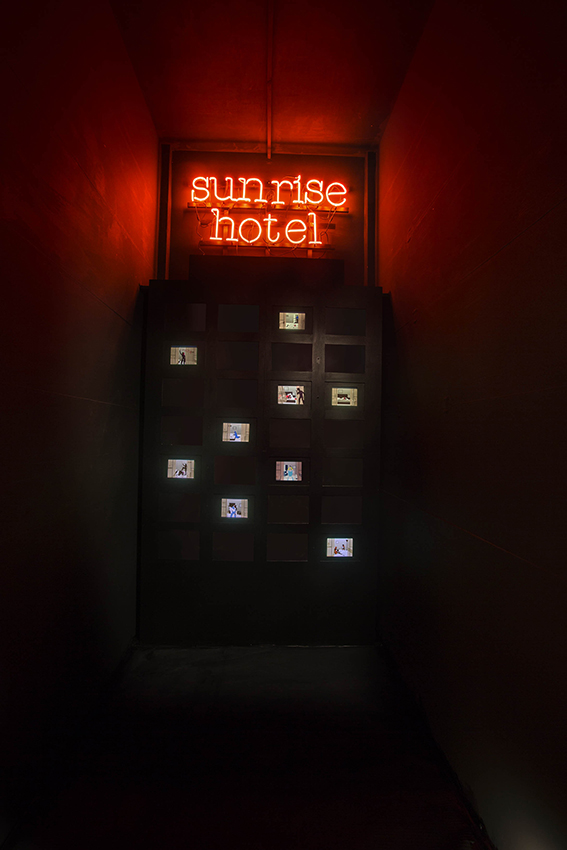 SUNRISE HOTEL at Wunderkammern gallery, Roma [img 2]