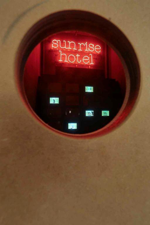 SUNRISE HOTEL at Wunderkammern gallery, Roma [img 8]