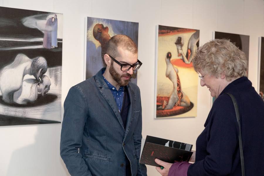 INFERNO EXHIBITION, February 25/March 21 2014, Berlin Italienisches Kulturinstitut [img 13]
