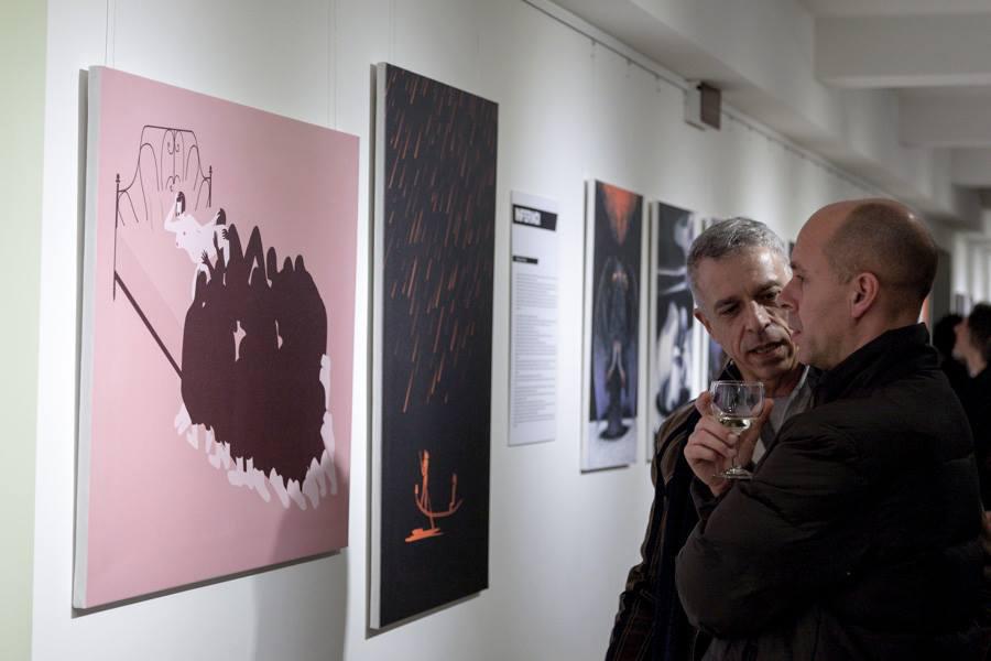 INFERNO EXHIBITION, February 25/March 21 2014, Berlin Italienisches Kulturinstitut [img 7]