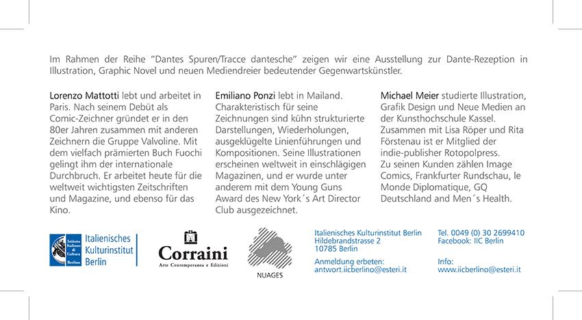 INFERNO EXHIBITION, February 25/March 21 2014, Berlin Italienisches Kulturinstitut [img 4]