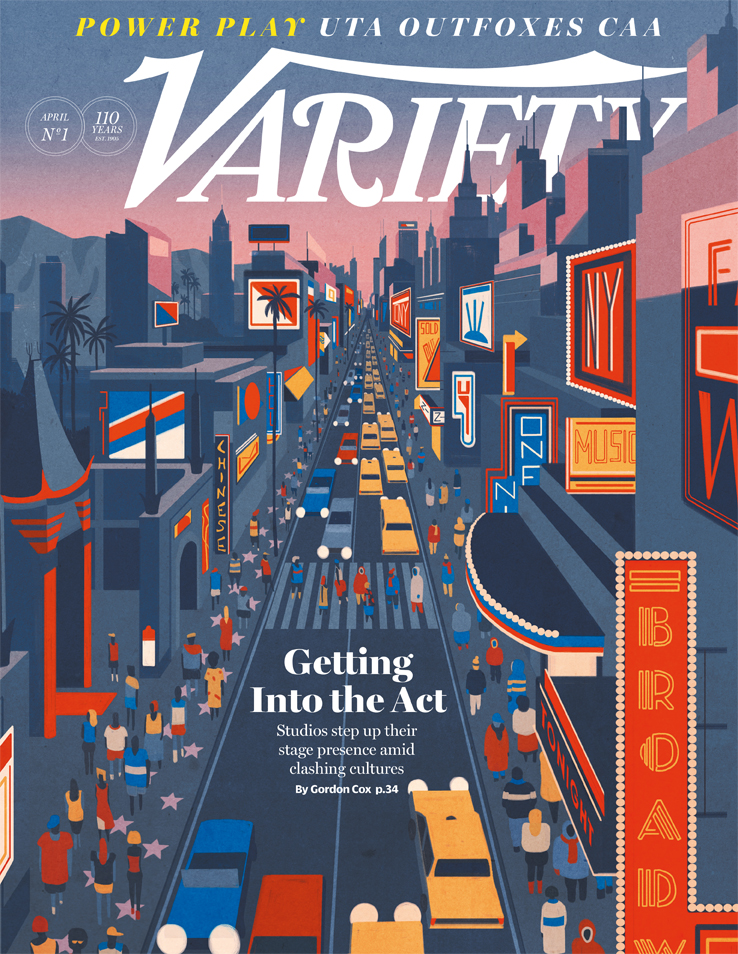 Variety cover
