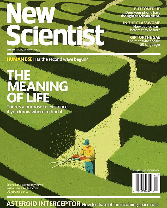 New scientist cover Emiliano Ponzi