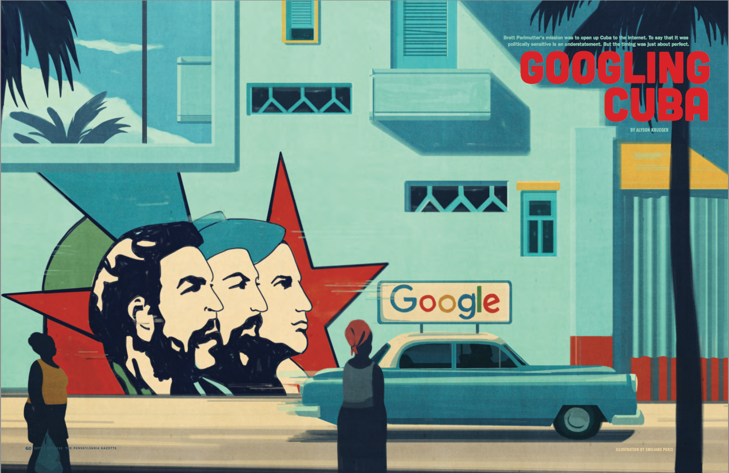 The Penn Gazette cuba Emiliano Ponzi
