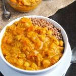 Chickpea Pumpkin Coconut Curry (vegan)