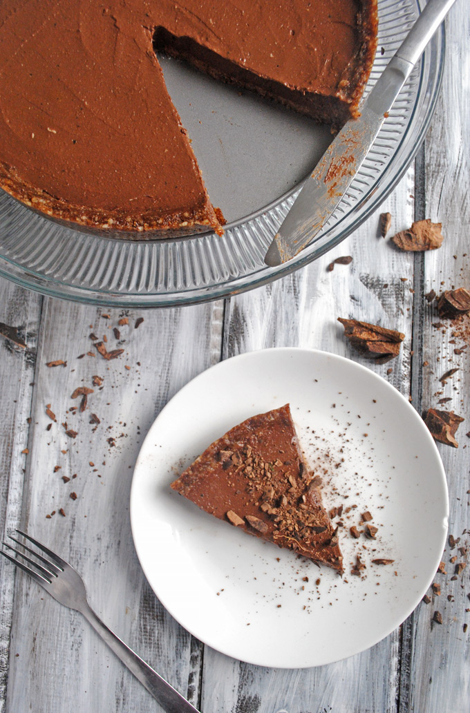 A silky-smooth Vegan Chocolate Pudding Pie that will impress all of your friends and family! No one will ever guess the secret ingredient.