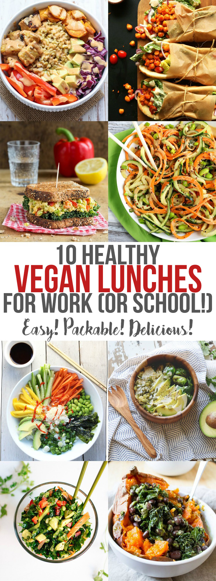 10 healthy vegan lunches for work or school emilie eats