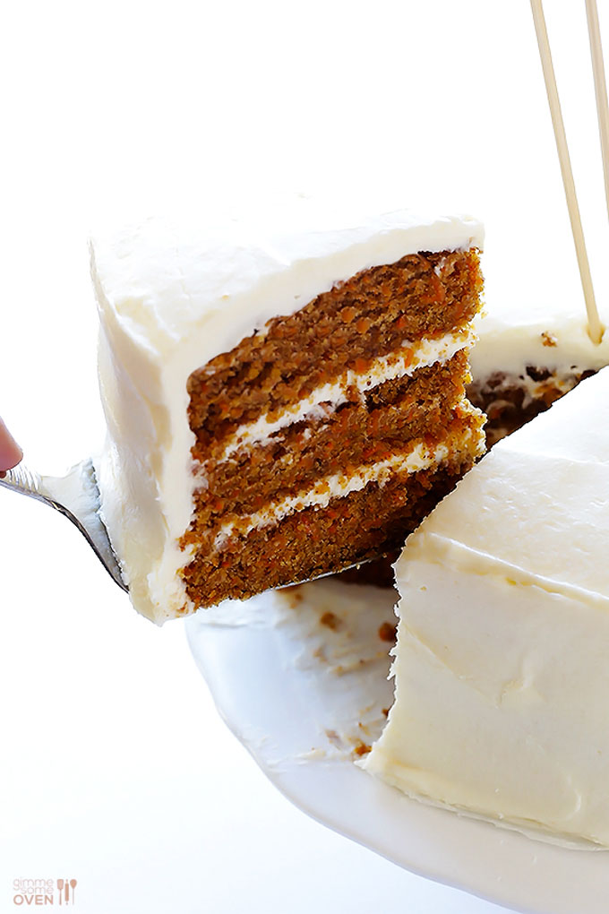 Gluten Free Carrot Cake by Gimme Some Oven