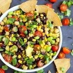 Pineapple Three Bean Salad