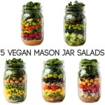 5 Vegan Mason Jar Salad Recipes