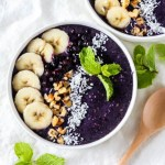 Blueberry Mint Smoothie Bowl