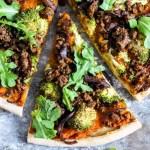 Hearty Vegan Butternut Squash Pizza