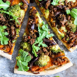 Hearty Vegan Butternut Squash Pizza