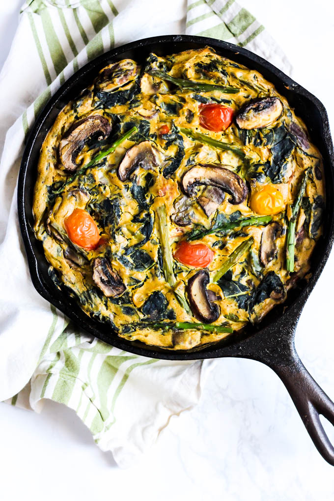 Easy vegetarian breakfast quiche recipes