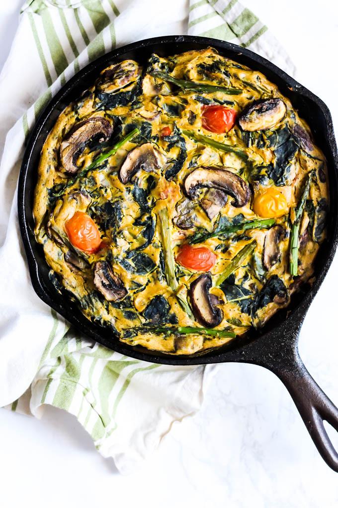 Easy vegetarian breakfast quiche recipes
