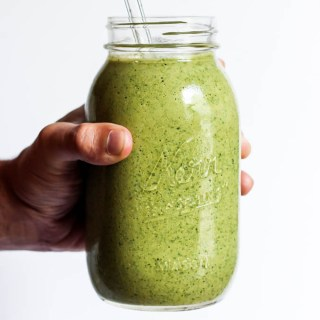 Banana Matcha Green Tea Smoothie