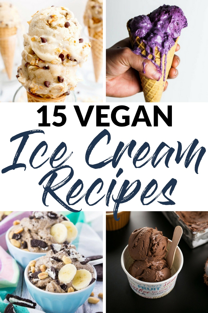Cool off this summer with these 15 vegan ice cream recipes that are delicious, creamy & oh-so refreshing! No one will guess that these are all plant-based.