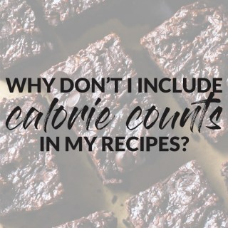 Sorry, I Don't Know the Calorie/Fat/Carb Content of My Recipe