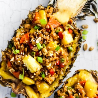 Easy Pineapple Fried Rice (vegan & gluten-free)