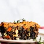Sweet Potato Shepherd's Pie (vegan & gluten-free)