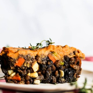 Sweet Potato Shepherd's Pie (vegan & gluten-free)