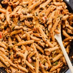 One Pan Mexican Pasta Skillet (vegan)