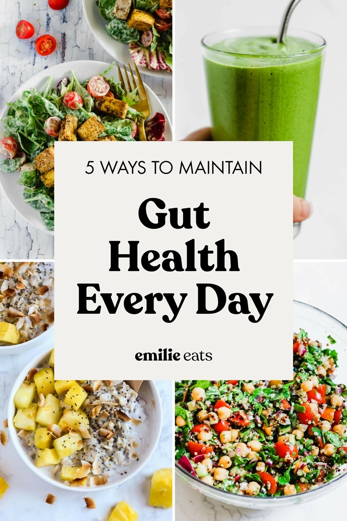 Keeping your gut healthy doesn't have to be difficult or expensive! Here are 5 easy ways to maintain a healthy gut in your everyday life.