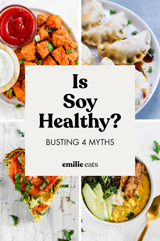 Is soy healthy? Who can eat it? Does it even taste good?! We're busting four myths about soy to help you better understand this nutritious, protein-packed food.