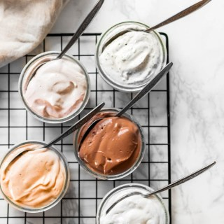 Save some money by making your own vegan cream cheese! Made with tofu and cashews, these cream cheese recipes are wholesome spreads for toast, crackers and more. 5 flavors included in the post!