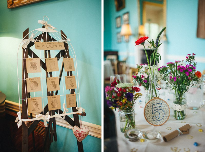 Vintage themed Walcot Hall Wedding.