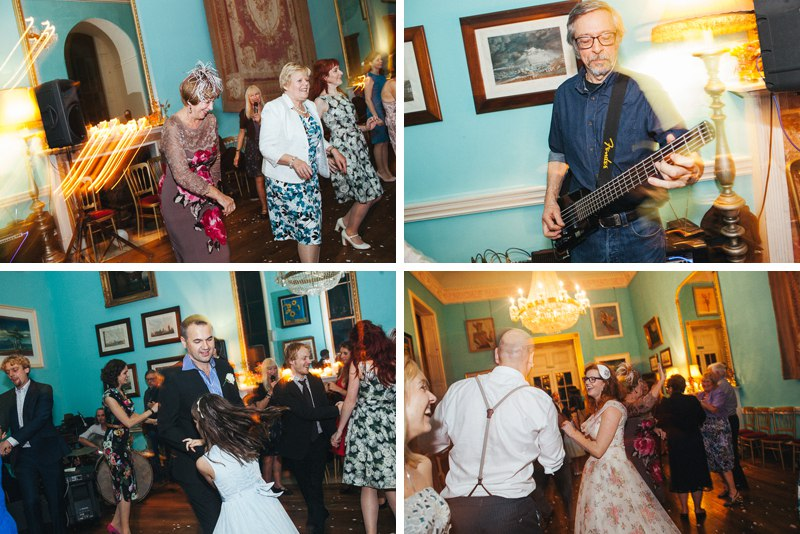 Wedding Ceilidh band - Walcot Hall Wedding Photographer