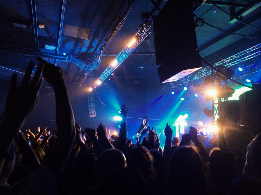 Live gig at Manchester Academy
