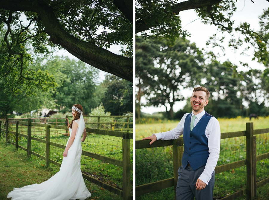 Wedding photos at Villa Farm