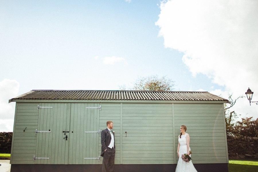 Fun quirky wedding photos Lancashire