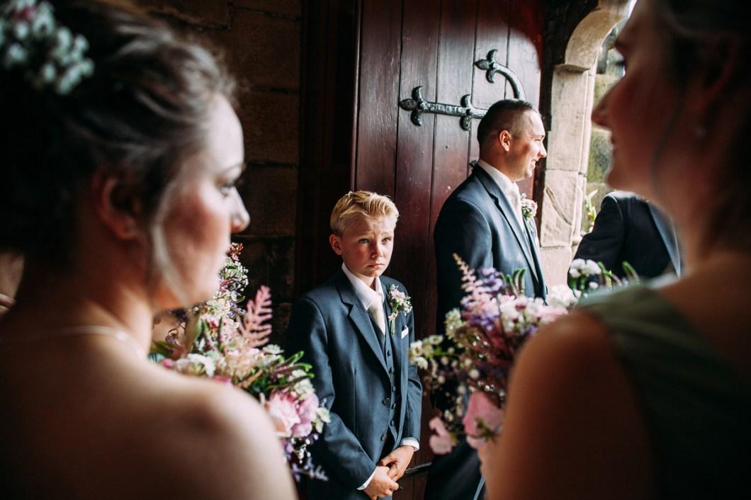 Burscough church wedding