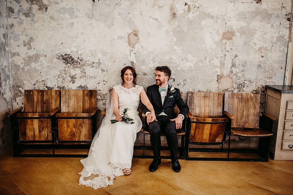 Industrial Holmes Mill wedding Clitheroe