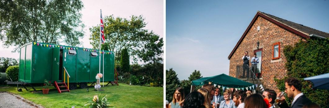 Marquee garden wedding Burscough