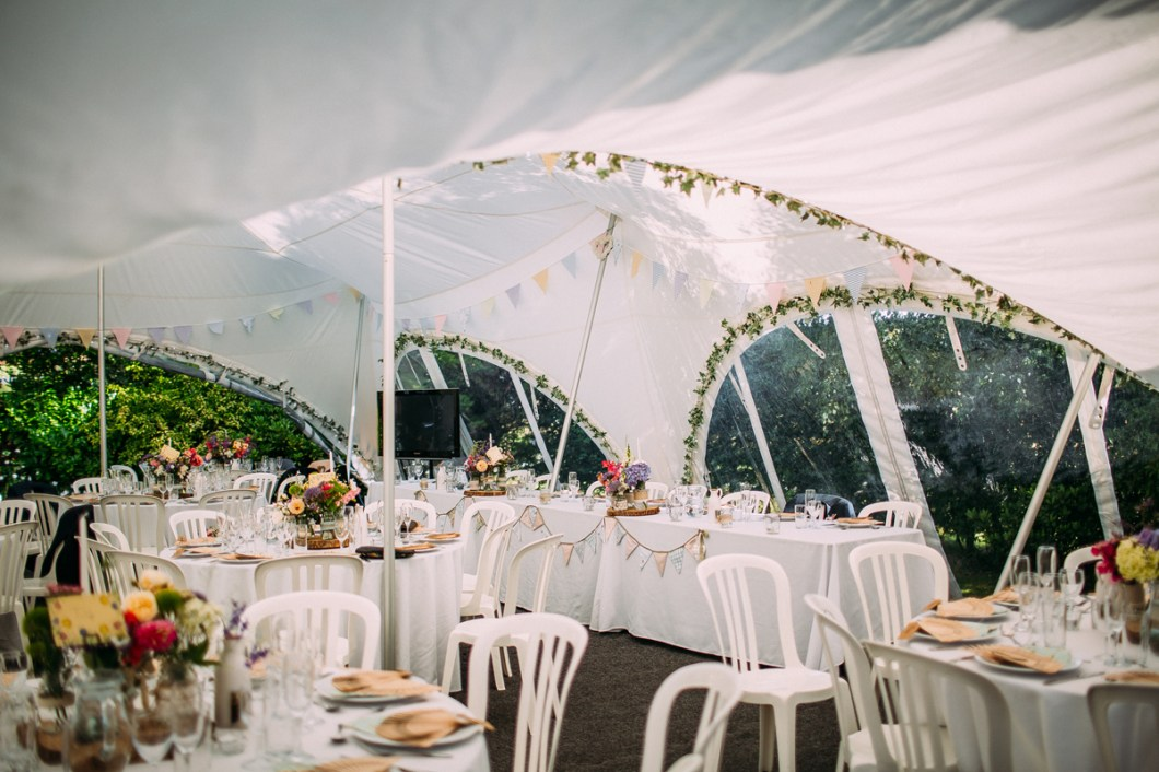 Marquee garden wedding Burscough