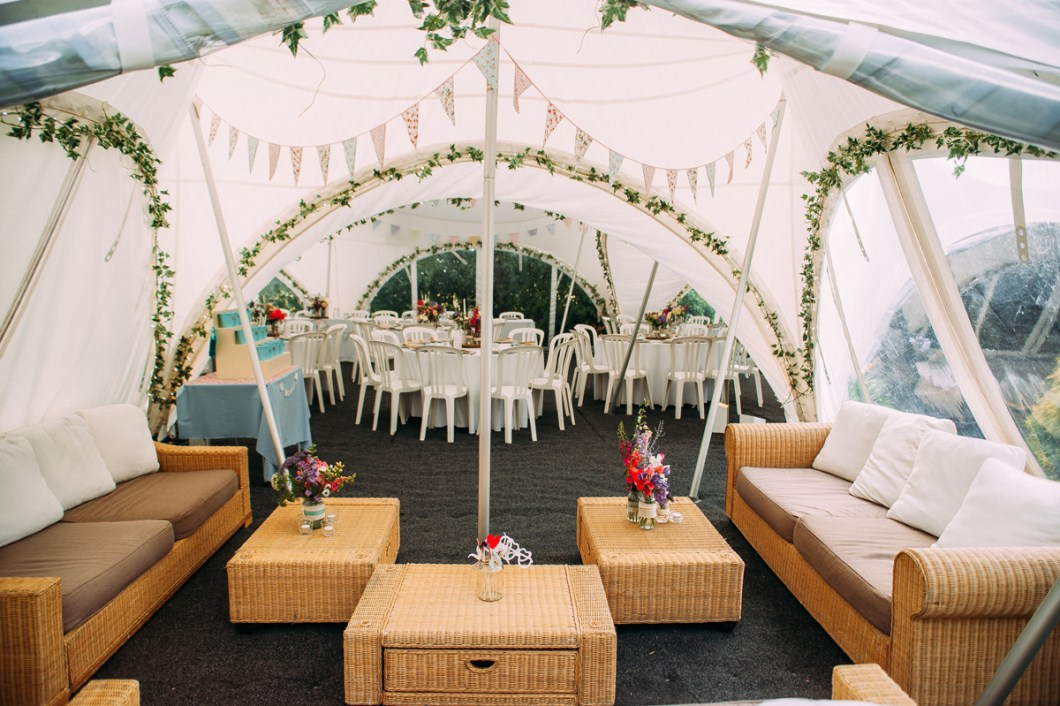 Marquee Garden Wedding - Lancashire Wedding Photographer