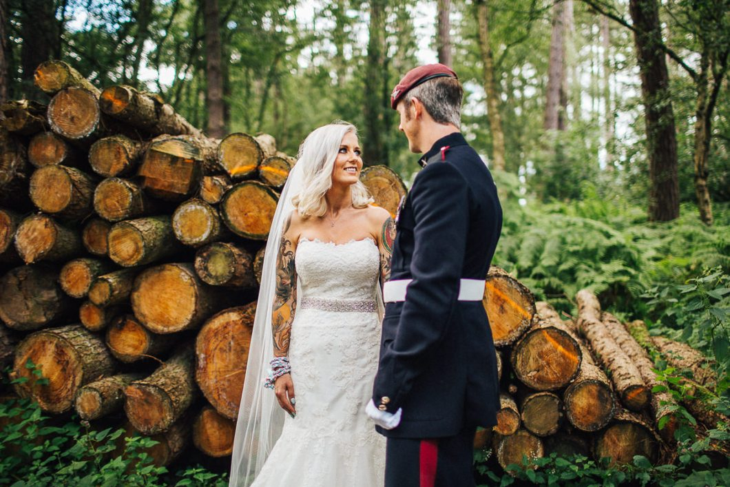 Rustic tipi wedding - Cheshire Wedding Photographer
