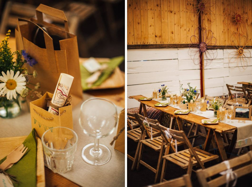 Rustic barn wedding Lancashire