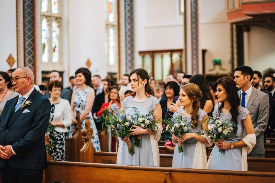 Stonyhurst Church wedding ceremony