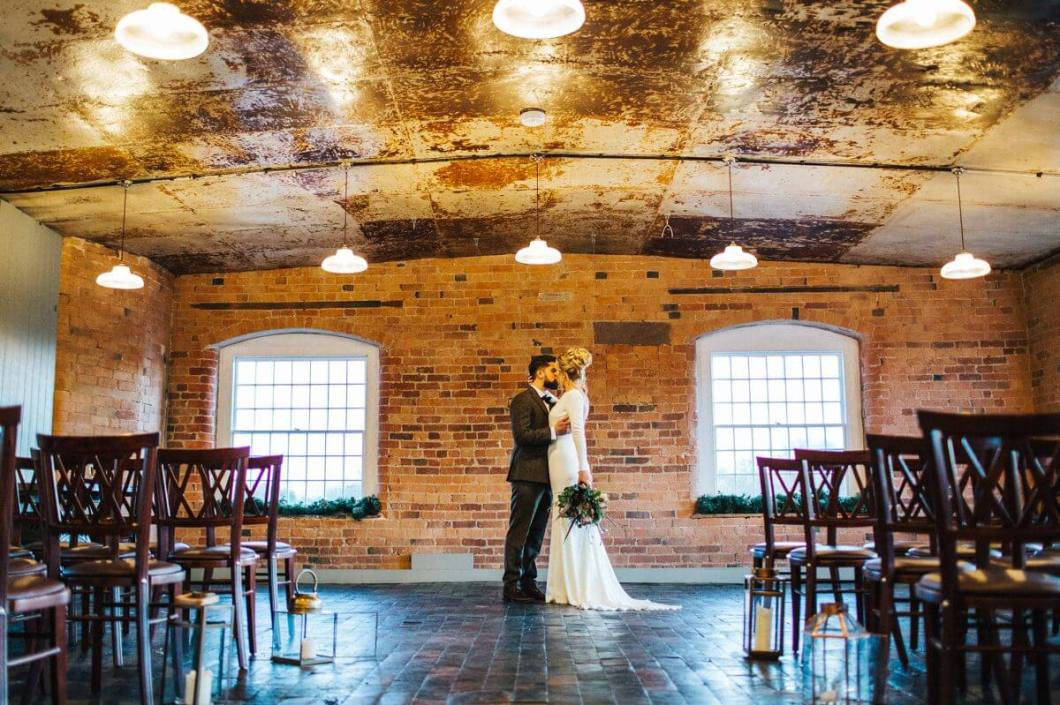 The West Mill wedding
