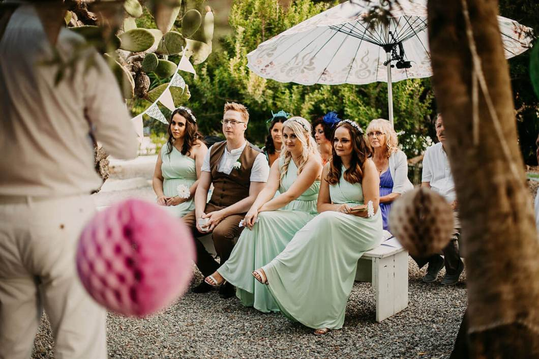 Beautiful outdoor wedding venue Ibiza