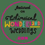 Whimsical Wonderland Weddings Feature