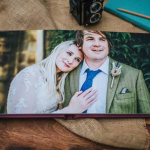 Fine Art Wedding Albums from a Manchester wedding photographer