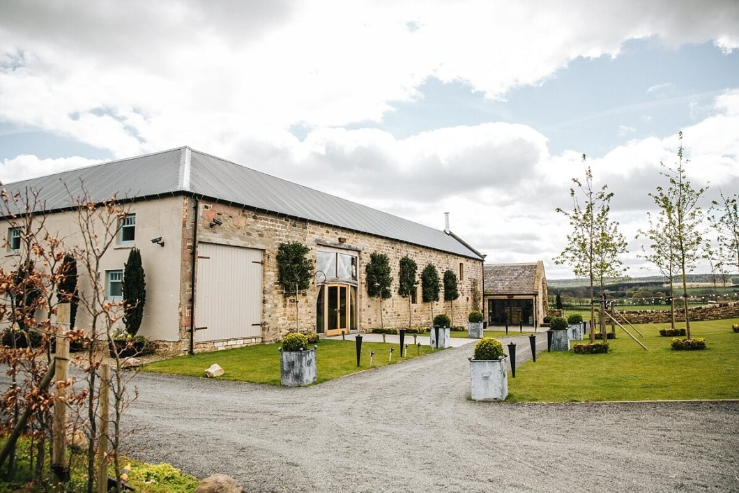 Healey Barn rustic wedding venue Northumberland