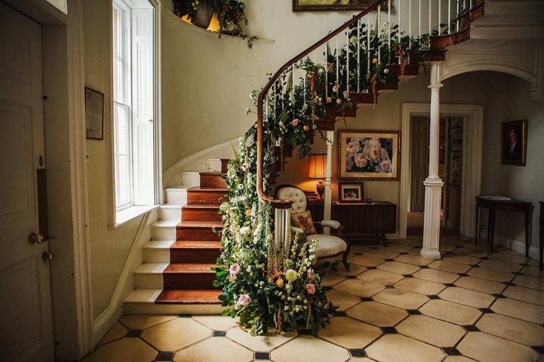 East Bridgford Hill staircase